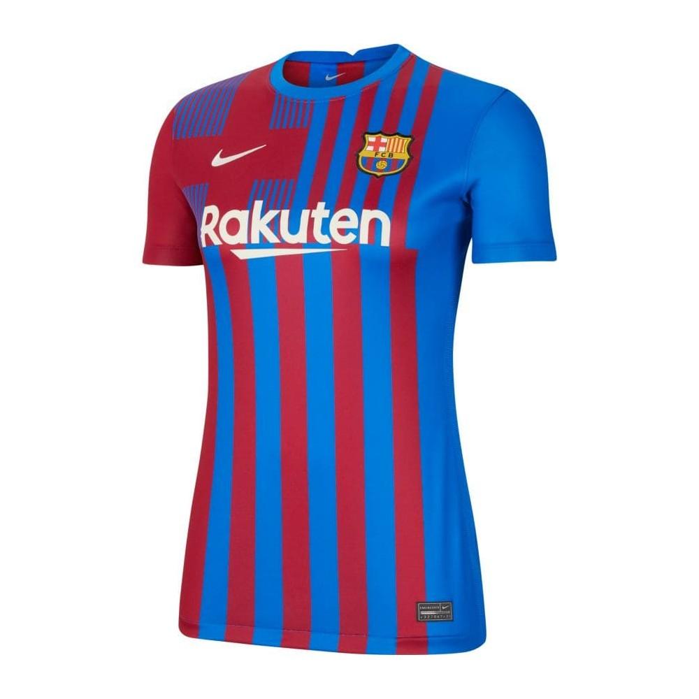 MAILLOT FC BARCELONE FEMME DOMICILE 2021/22 face