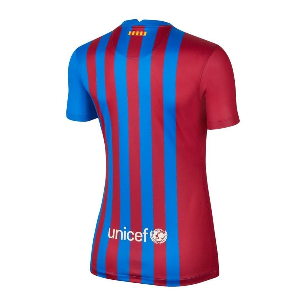 MAILLOT FC BARCELONE FEMME DOMICILE 2021/22 dos