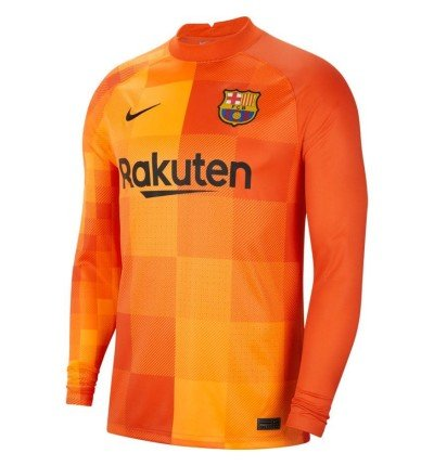 MAILLOT FC BARCELONE GARDIEN 2021/22 face