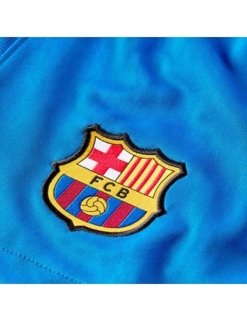 SHORT FC BARCELONE JUNIOR DOMICILE 2021/22 zoom logo