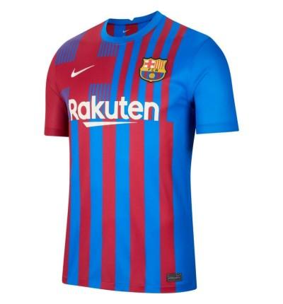 MAILLOT FC BARCELONE DOMICILE 2021/22 face