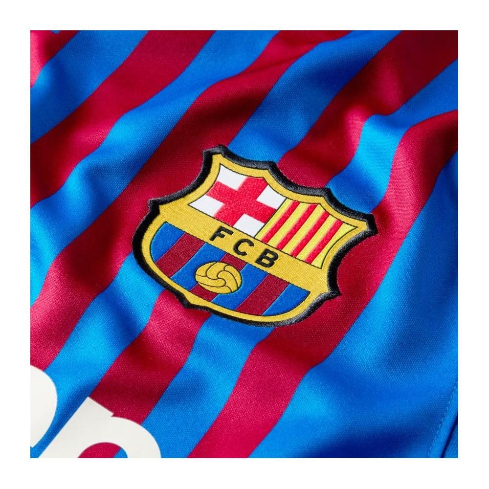 MAILLOT FC BARCELONE DOMICILE 2021/22 zoom logo