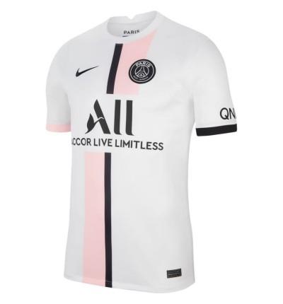 MAILLOT PSG EXTERIEUR 2021/22 face