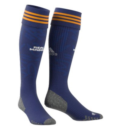 CHAUSSETTES REAL MADRID EXTERIEUR 2021/22 face