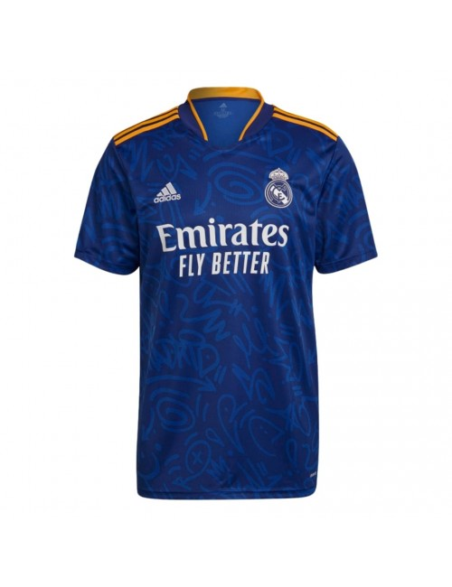 MAILLOT REAL MADRID EXTERIEUR 2021/22 face