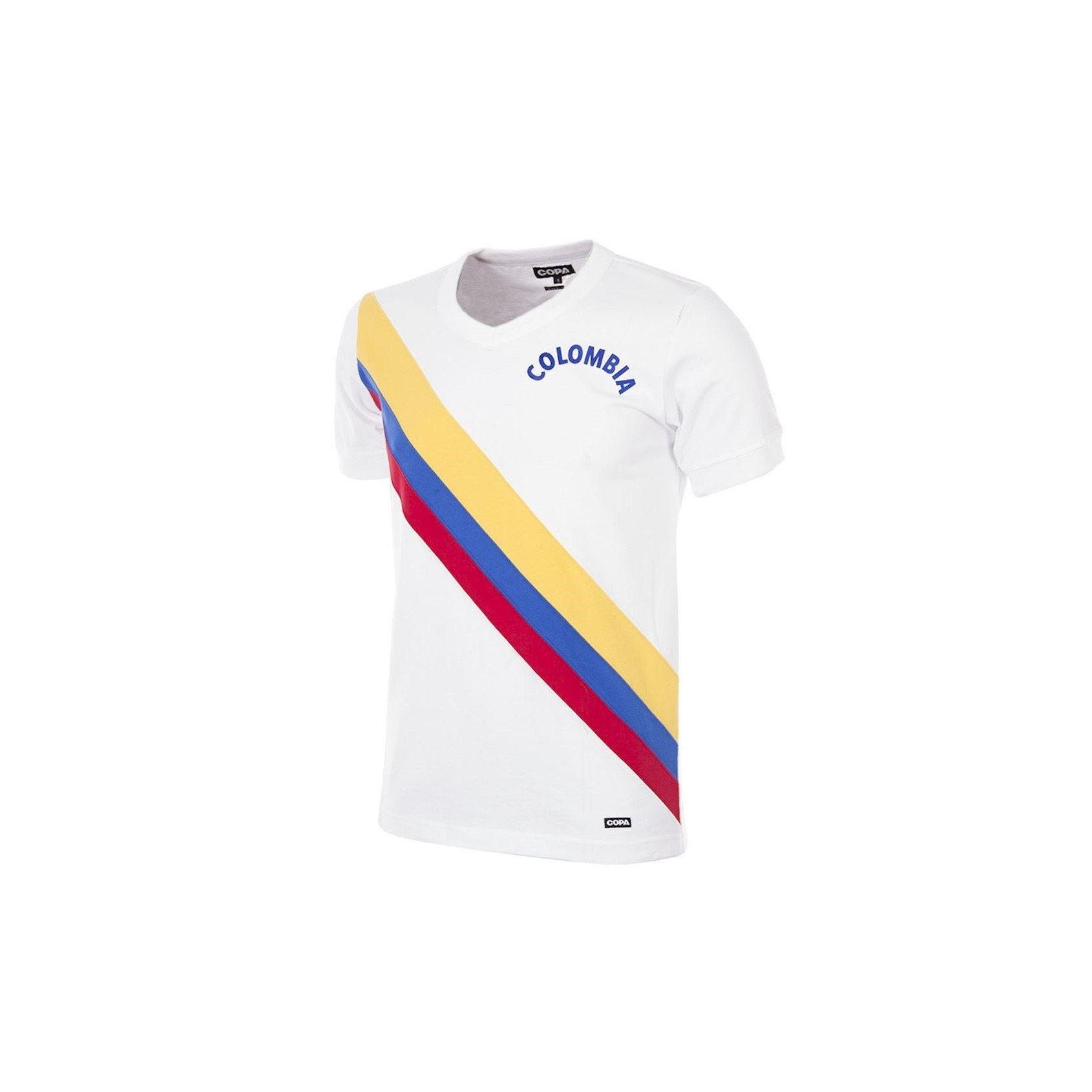 MAILLOT RETRO COLOMBIE 1973 face