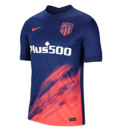 MAILLOT ATLETICO MADRID EXTERIEUR 2021/22 face