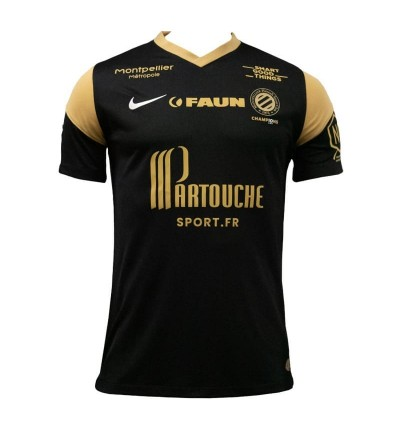 MAILLOT MONTPELLIER THIRD 2021/22 face