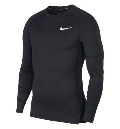 SOUS MAILLOT NIKE PRO MANCHES LONGUES face