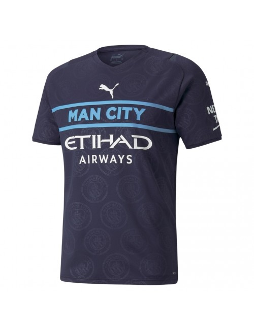MAILLOT MANCHESTER CITY EUROPE 2021/22 face